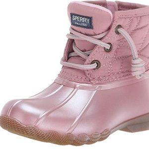 Little Kids Sperry Saltwater Duck Boots